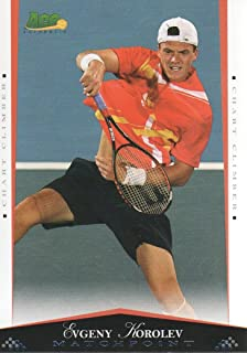 2008 Ace Authentic Match Point Blue Tennis #54 Evgeny Korolev