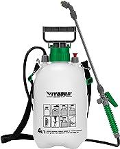 VIVOSUN 1 Gallon Lawn and Garden Pump Pressure Sprayer with 3 Water Nozzles, Pressure Relief Valve, Adjustable Shoulder Strap