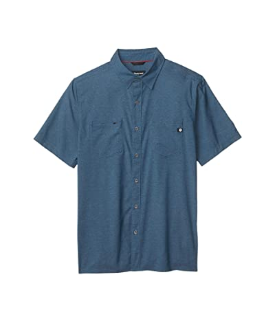 Marmot Innesdale Short Sleeve Shirt (Denim) Men