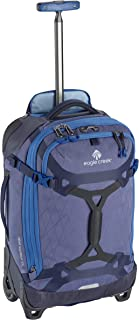 Gear Warrior International Carry Luggage Softside 2-Wheel Rolling Suitcase, Arctic Blue