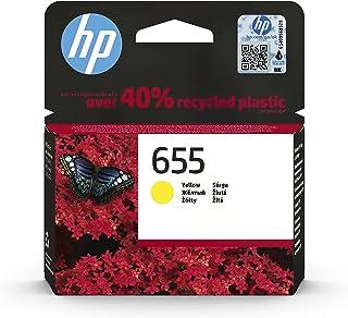HP 655 Yellow Original Ink Advantage Cartridge - CZ112AE