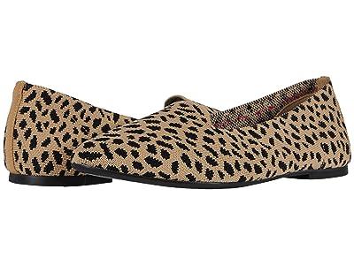 SKECHERS Cleo Knitty Kitty (Tan/Black) Women