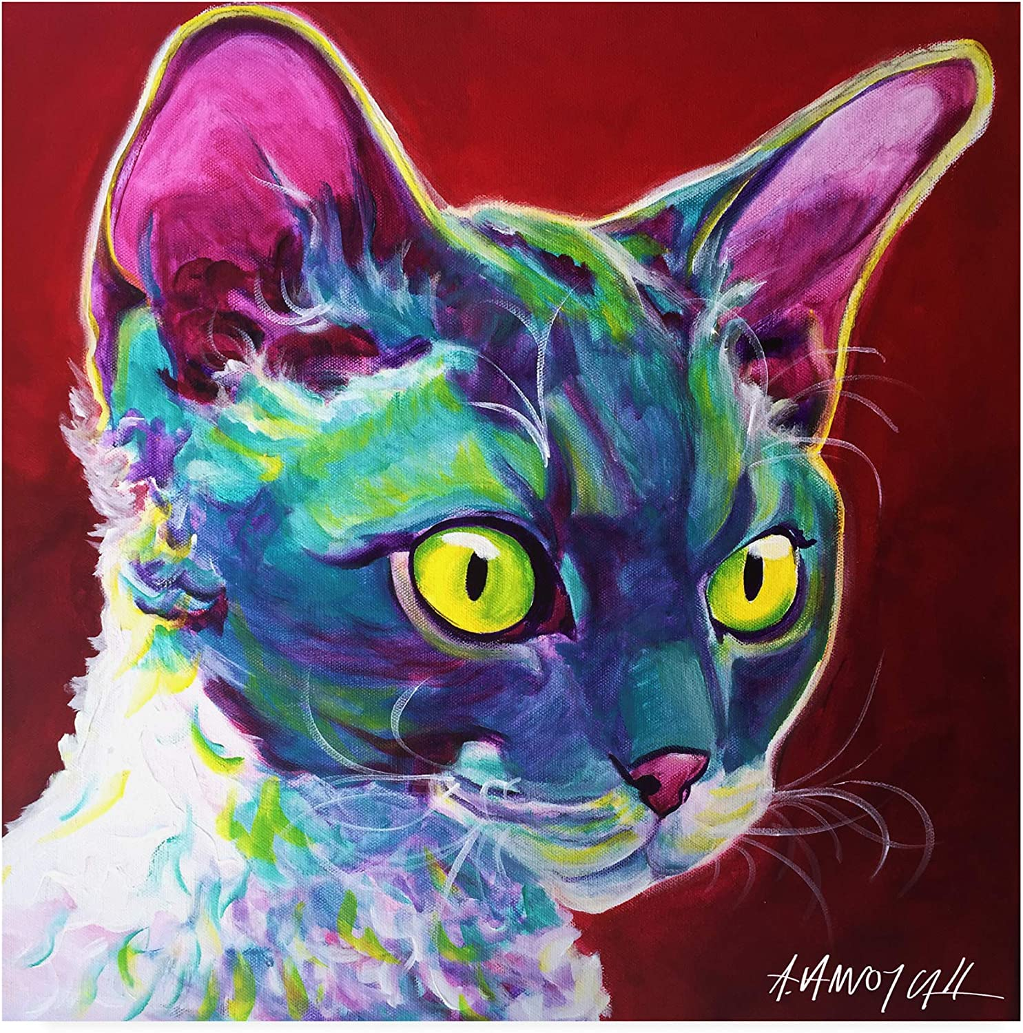 Trademark Fine Art Cat Devon Rex