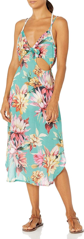 La Blanca Women's Cut Out Tie Front Dress Swimsuit Cover Up