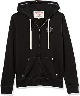 Men's Classic Logo Long Sleeve Zip Up Hoodie