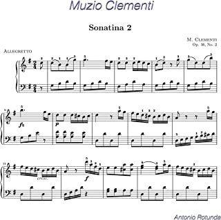 M. Clementi: Sonatina No 2 in G Major, Op. 36