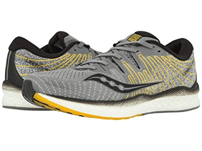 Saucony Liberty ISO 2 (Grey/Yellow) Men