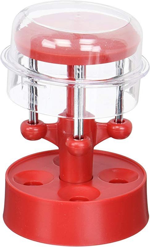 Farm To Table 57784 Multi Cherry Pitter Red