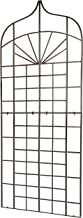 H Potter Garden Trellis for Climbing Plants Wrought Iron Metal Privacy Screen for Patio Deck Porch Outdoor Wall Decor Weather Resistant Large