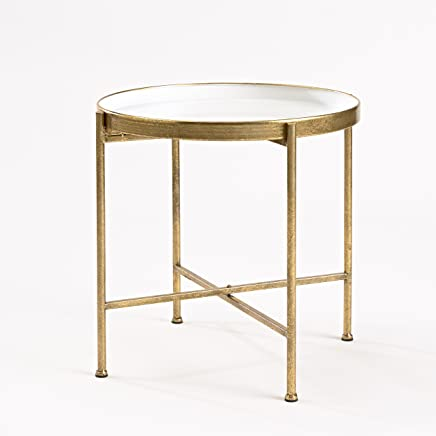 featured product InnerSpace Luxury Products Gild Pop Up Tray Table,  Large,  White