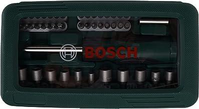Bosch 2607019504 Screwdriver, Set of 46 Pieces (Assorted Color)