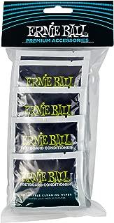Ernie Ball Wonder Wipes Fretboard Conditioner, 20 Pack