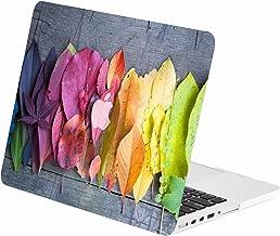 TOP CASE - Autumn Spectrum Graphic Rubberized Hard Case Compatible MacBook Pro 15