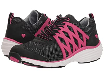 Nurse Mates Brin (Black/Pink) Women