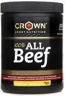 comprar comparacion Crown Sport Nutrition 100% All Beef, Concentrado proteico de carne de vacuno con Hierro Hemo, B12, B6 entre las 20 vitamin...