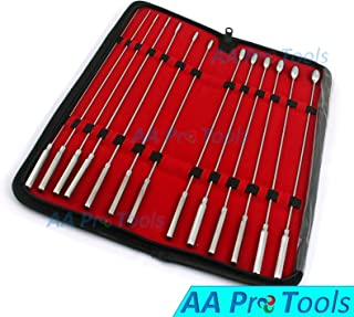 AA PRO New German Grade Bakes Rosebud URETHRAL Sounds Dilator Set of 13 Pieces A+ Quality