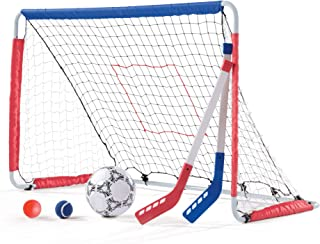 Step2 Kickback Soccer Goal and Pitch Back