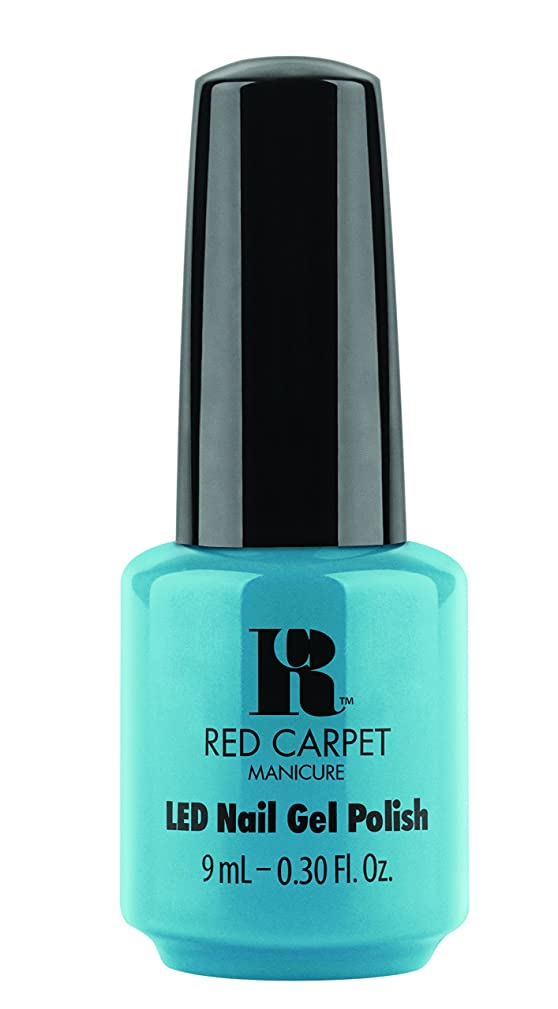 苦行殺します羽Red Carpet Manicure - LED Nail Gel Polish - Sandal Scandal - 0.3oz/9ml
