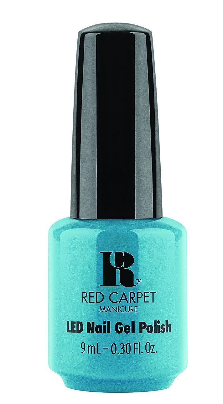 クッション親名前を作るRed Carpet Manicure - LED Nail Gel Polish - Sandal Scandal - 0.3oz/9ml