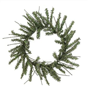 "Vickerman 12"" Mini Vienna Twig Artificial Christmas Wreath - Unlit"