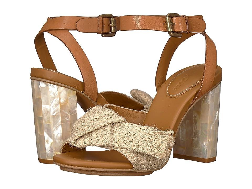 See by Chloe SB30052 (Juta Ribbon/Natural Calf/Cuoio) High Heels
