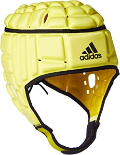adidas 阿迪达斯男式橄榄球头护卫衣,男士,RUGBY Headguard Kopfschutz,Byello/黑色/黑色