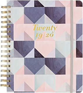 2019-2020 Academic Planner - Weekly & Monthly Planner with Tabs, Thick Paper, 8.25