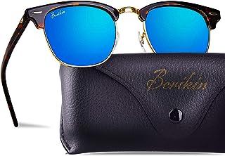 Berikin Vintage Square Style Sunglasses Acetate Frame...
