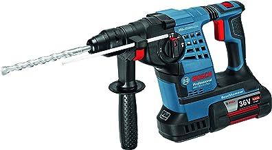 Bosch Profesional taladro martillo perforador GBH 36V-Li inalámbrico con (sin batería y cargador)–L-BOXX