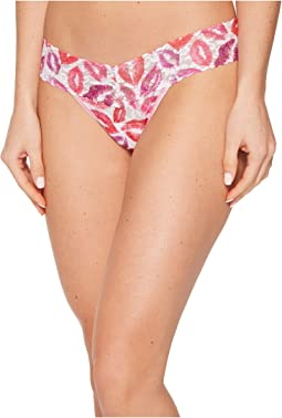 Love & Kisses Low Rise Thong