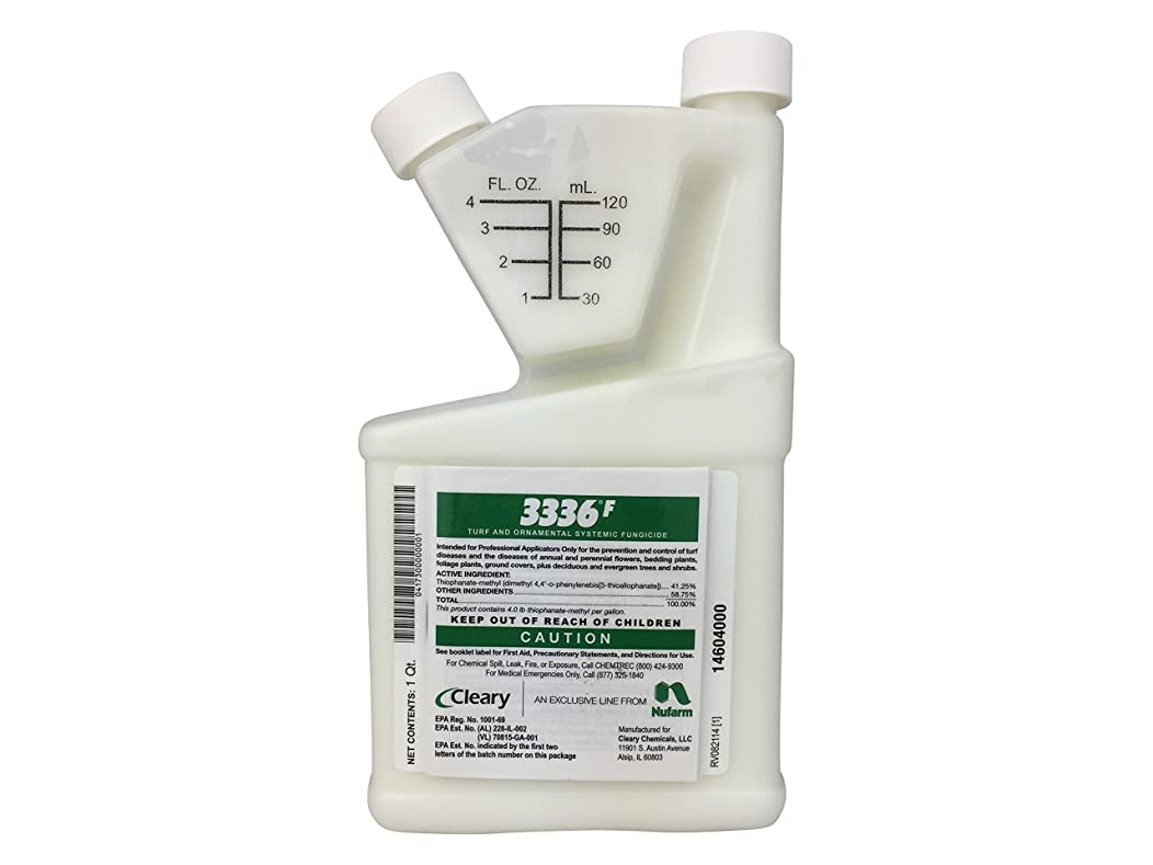 Clearys 3336 F Fungicide Turf Ornamental Fungicide Systemic Fungicide 1 Quart