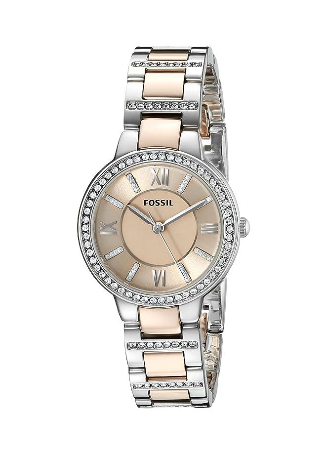 Fossil Women's Virginia Quartz Stainless Steel Dress Quartz Watch