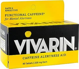 Vivarin Caffeine Alertness Aid, Tablets 40 ea (Pack of 2)