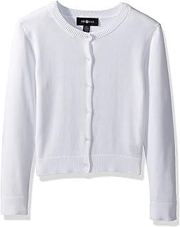 Amy Byer Girls' Big 7-16 Perfect Long Sleeve Cardigan Sweater