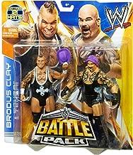 Tensai vs. Brodus Clay Figure w/ 2 Hats: WWE Battle Pack Action Figure Series