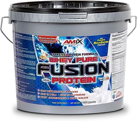 Amix Whey Pure Fusion 4 Kg Fresa 4000 g