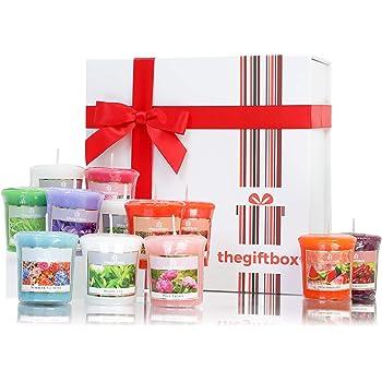 FEERIC CHRISTMAS Coffret 8 Bougies Parfum/ées Pot Confiture Comptoir de No/ël
