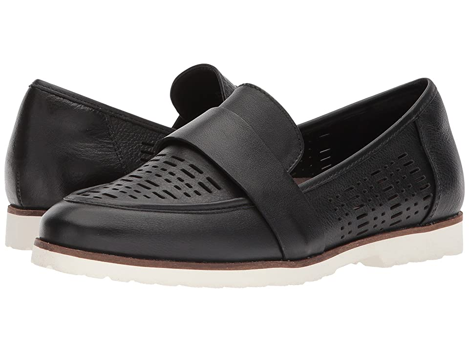 Earth Masio (Black Premium Leather) Women