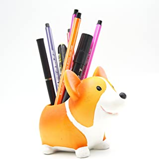 Creative Pen Pencil Brush Holder Pot Stylish Storage Container Desk Organizer Decoration Accessories Succulent Plant Pot O...