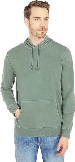Mineral Wash Fleece Pullover Hoodie