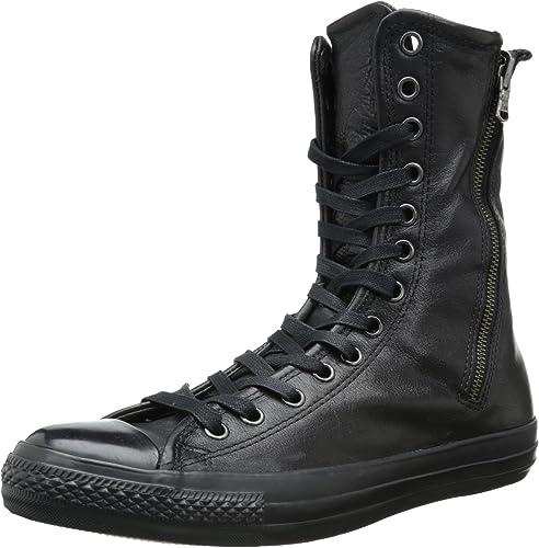 Converse Chuck Taylor All Star - Stivali in pelle da uomo, Nero ...
