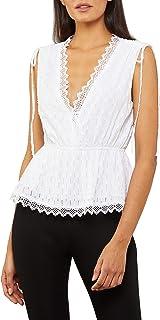 Women's Lace Trim Sleeveless Top