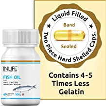 Inlife Fish Oil With Omega 3 500 Mg 60 Capsules