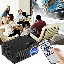$48 » Full HD 1080p Multimedia Movie Projector Home-Theater Cinema w/HDMI/AV/USB Ports - Portable LED Mini Projector 400 Lumens ...