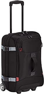 AmazonBasics Small Wheeled Travel Duffel, Black