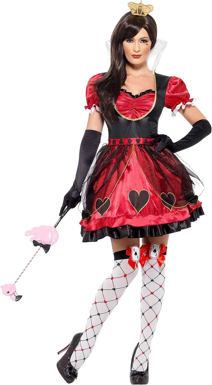 Women's Queen of Wonderland Fancy dress costume Medium