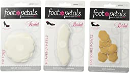 Foot Petals Wedding Day Collection - Tip Toes, Heavenly Heelz, & Pressure Points