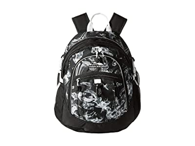 High Sierra Fatboy Backpack (Black Vapor/Black/White) Backpack Bags