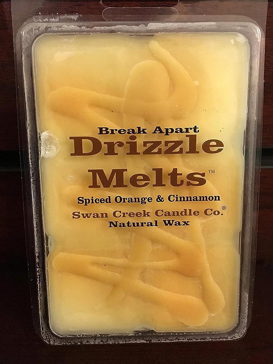 1 X Swan Creek Drizzle Melts- Spiced Orange & Cinnamon uig793251146033