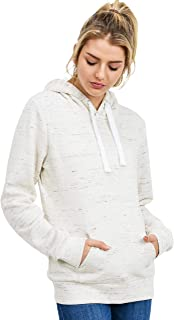 Women's Ultra Soft Fleece Basic Midweight Casual Solid Pullover Hoodie Sweatshirt